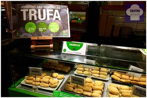 Jornadas Gastronómicas de la trufa negra La Trastienda Tapas Mercado San Anton Trufa negra