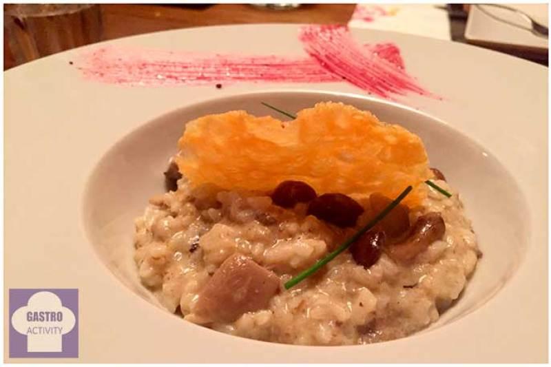 Risotto de boletus Tapioca Chill & Cocina