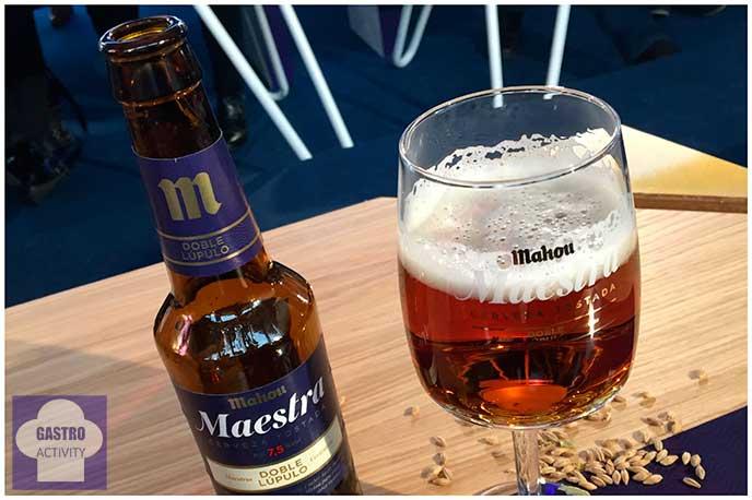 Cata de cerveza Maestra de Mahou