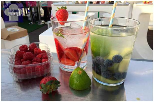 Aguas infusionadas de Bezoya de fresas y de kiwi