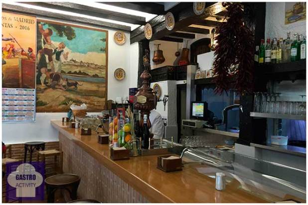 Barra del Restaurante Bocaito Madrid