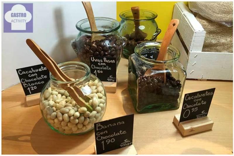 Chocolate al peso Pepita y Grano