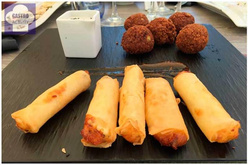 Rakayek y Falafel Restaurante Shukran comida libanesa Madrid