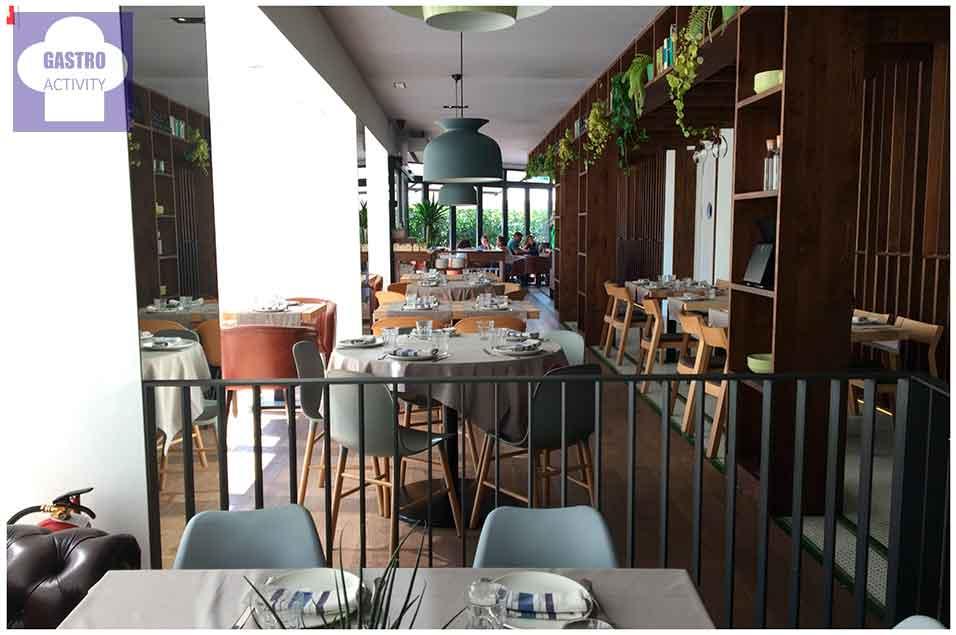Zona familiar Restaurante Orgaz Campo de las Naciones
