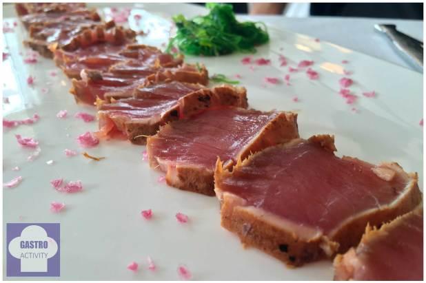 Bonito a la brasa Restaurante Gueyu Mar