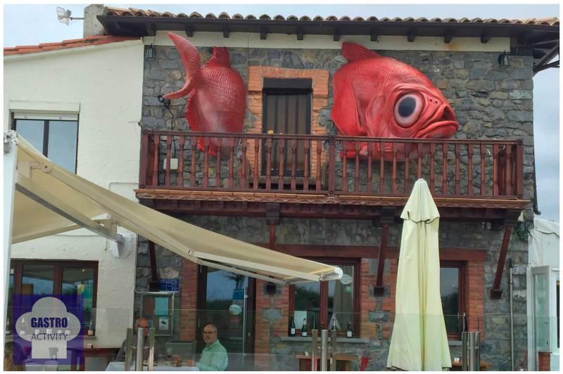 Pez rey Restaurante Gueyu Mar Ribadesella Asturias