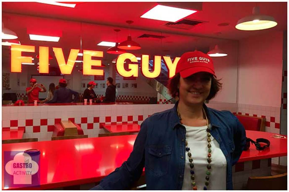 Gastroactivity en Five Guys London