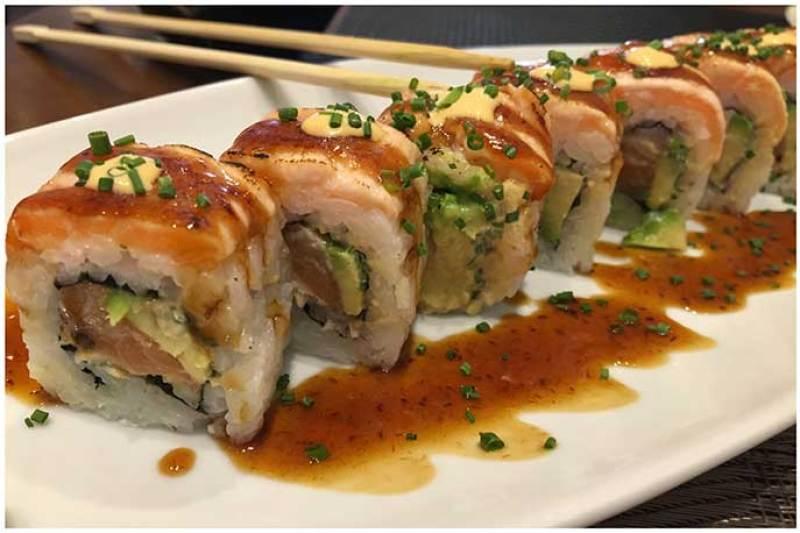 Elvis Roll Yamato Sushi Bar Heron City