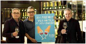 Andreu Buenafuente Presentacion 10 Premio Vila Viniteca de Cata por Parejas