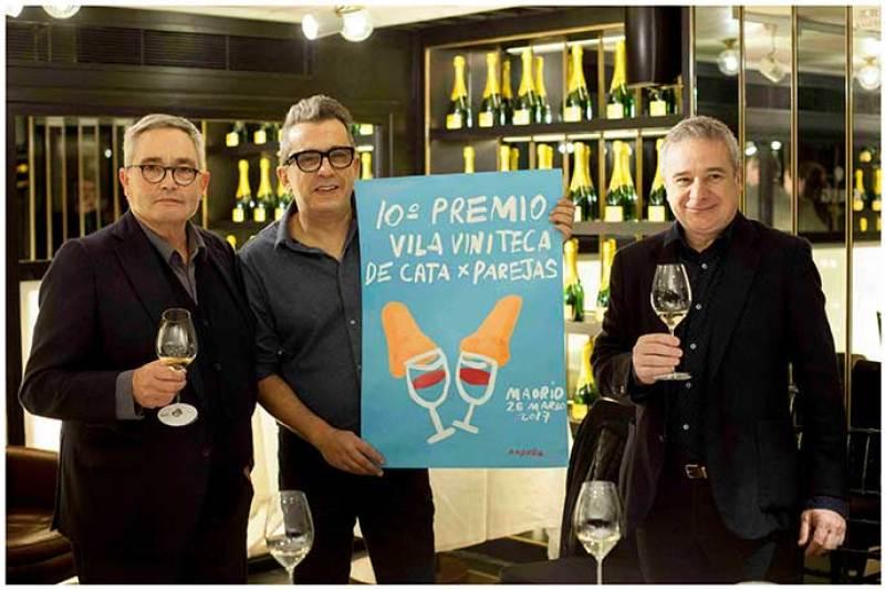 Presentacion Premio Vila Viniteca de Cata por Parejas