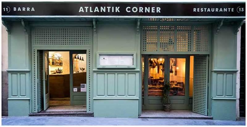 Fachada Atlantik Corner restaurante portugues