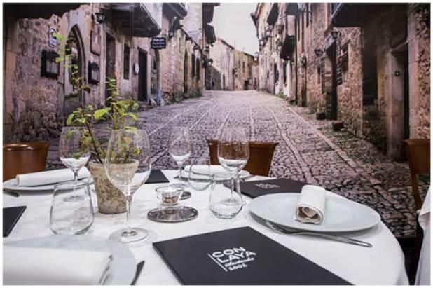 Restaurante Conlaya Madrid Santillana del Mar