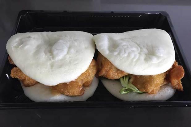 Bun Bao de pollo Go Sushing comida japonesa a domicilio en Madrid