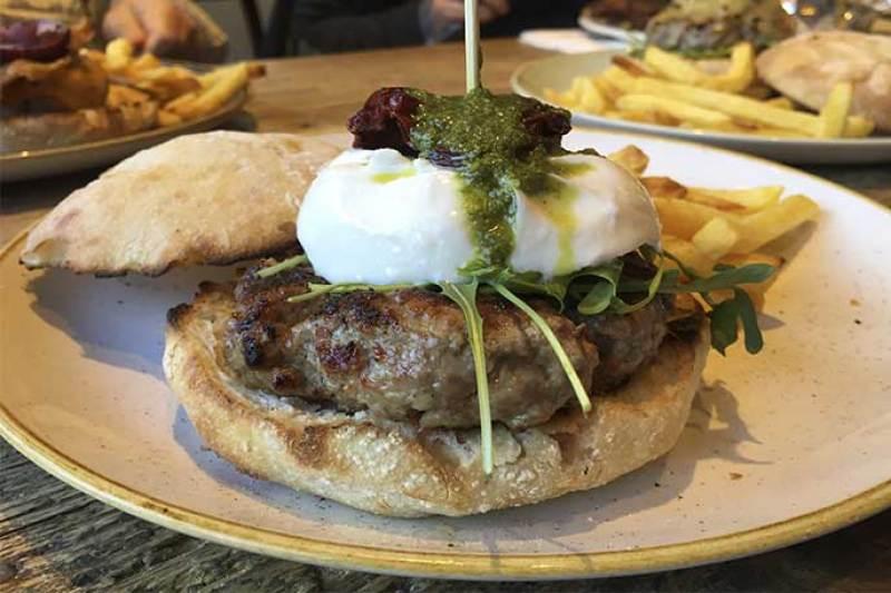 Hamburguesa Italiana Queen Burger Gourmet