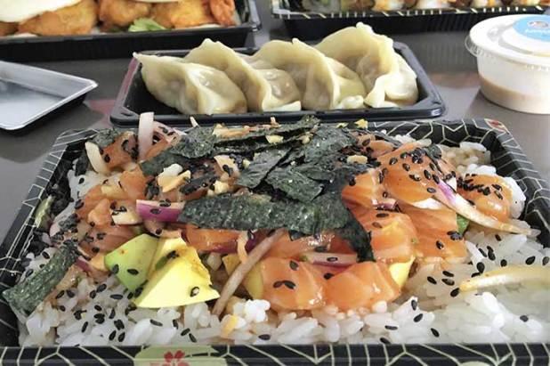 Poke Salmon Go Sushing comida japonesa a domicilio en Madrid