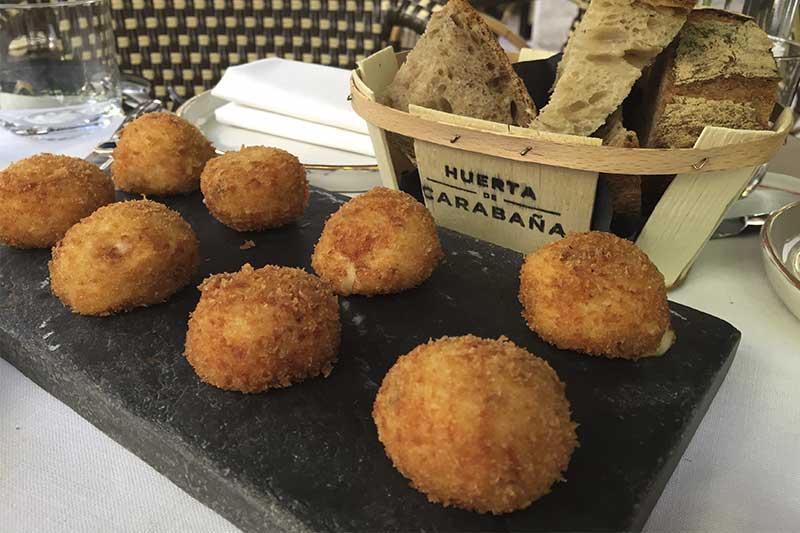Croquetas de jamon iberico La Huerta de Carabaña