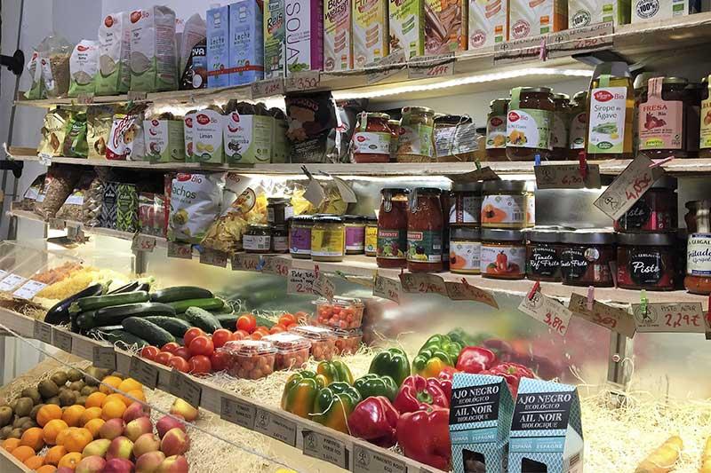 Tienda ecologica vegetariana La Huerta de Almeria