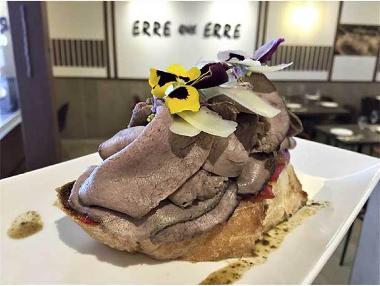 Tosta de Roast Beef Erre que Erre Fuencarral
