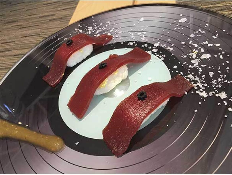 Niguiri dulce Restaurante Oceanika