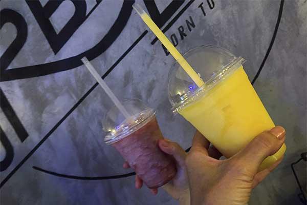 The Urban Bits Smoothies de mango y de frutos rojos