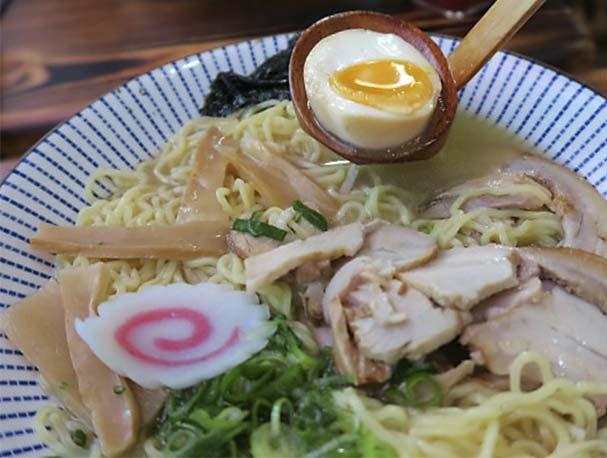 Tonkotsu ramen Ramen Shifu restaurante japones