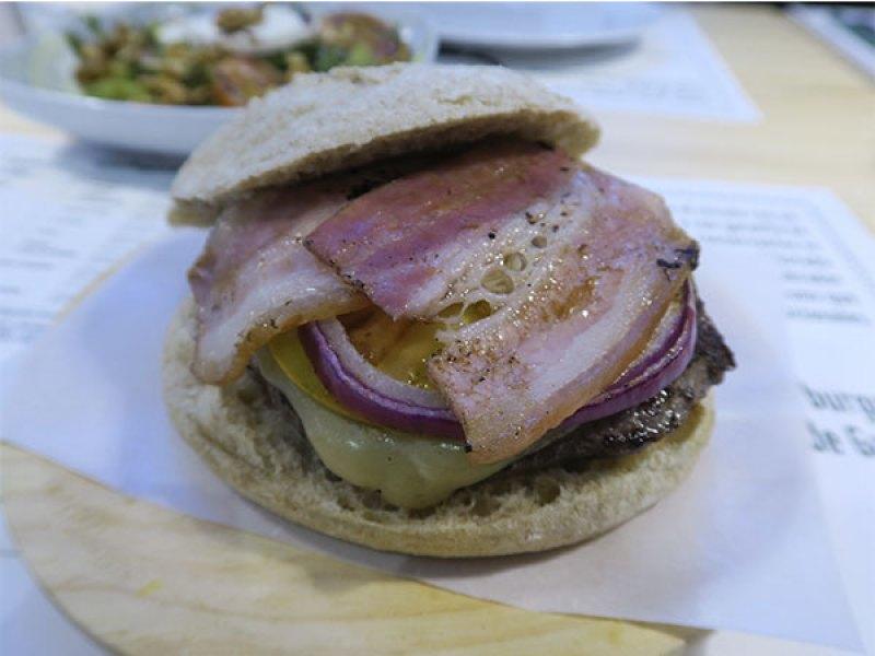 Galeguesa Corga Longa hamburguesa gallega