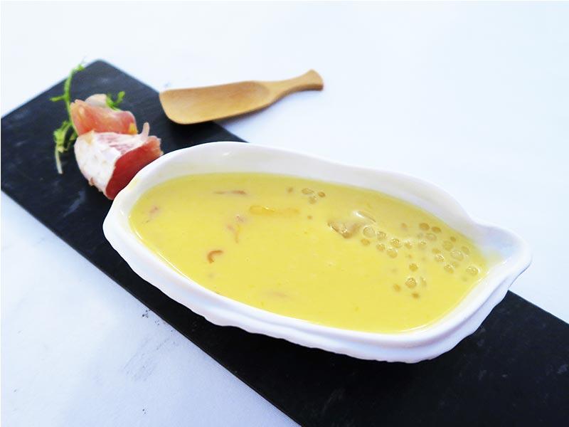 Menu degustacion del chef Scott Xu para China Taste 2018 Leche de coco