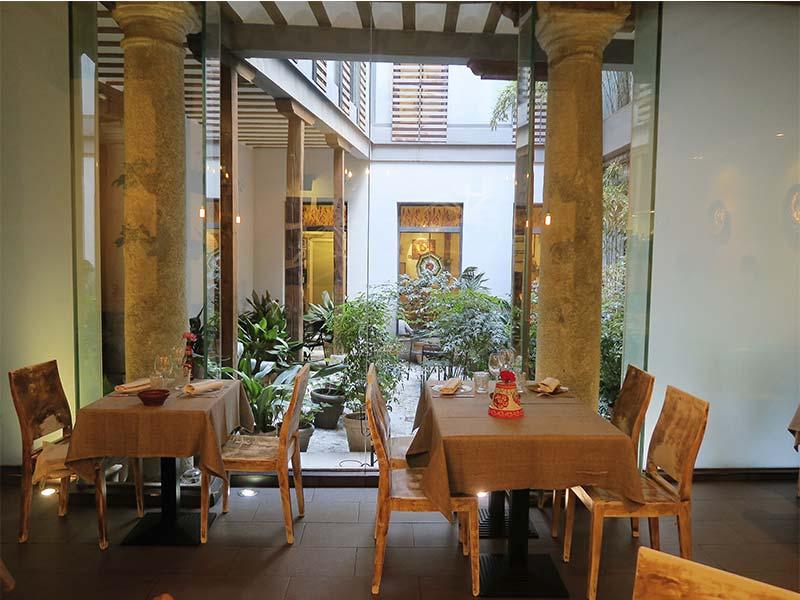 Restaurante La Malaje Madrid comedor