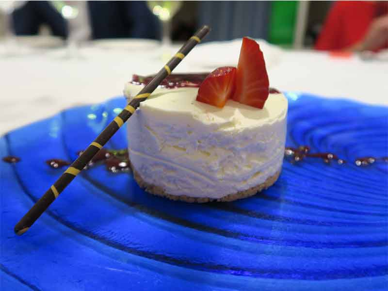 Restaurante St. James Tarta de queso