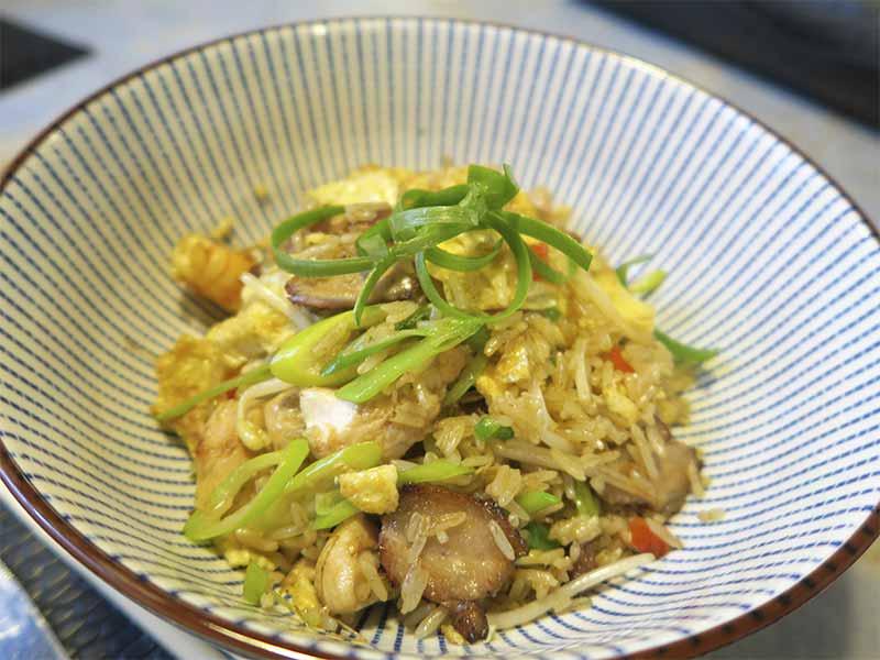 Arroz salvaje Leo Restaurante Capon cocina Chifa y Nikkei