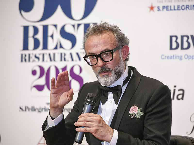 OSTERIA FRANCESCANA CHEF MASSIMO BOTTURA NUMERO UNO MEJORES RESTAURANTES DEL MUNDO THE WORLD´S 50 BEST RESTAURANTS 2018