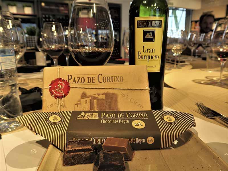 Sibarium Delicatessen Chocolate artesano y Pedro Ximenez