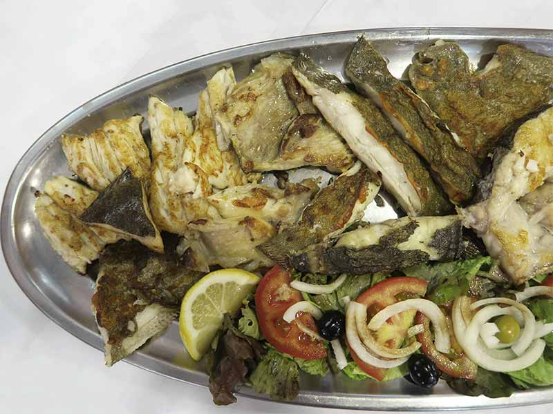Restaurante Tasmallo A Guarda Pontevedra Parrillada de pescado
