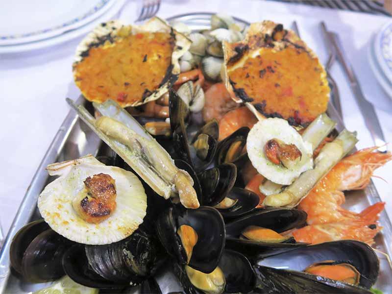 Restaurante Tasmallo A Guarda Pontevedra Mariscada gallega