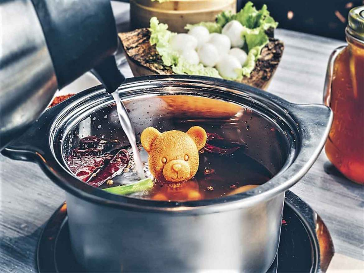 Hot Pot restaurante chino Hainao Olla caliente