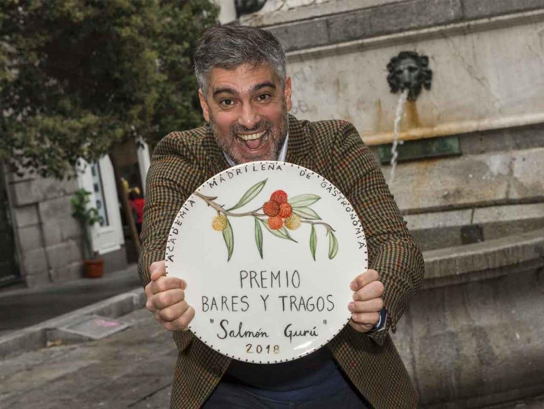 Premios Academia Madrileña de Gastronomía 2018 Diego Cabrera