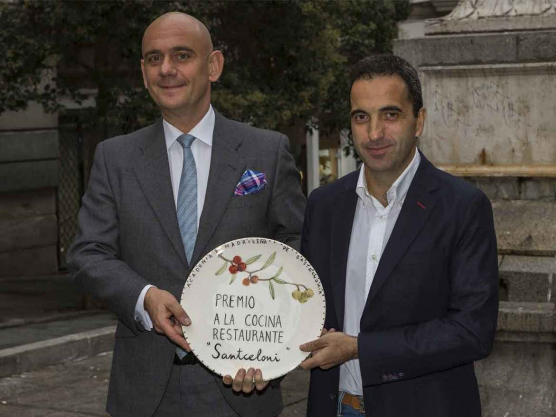 Premios Academia Madrileña de Gastronomía 2018 Santceloni