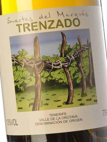 Vinissimus Vinos Canarios Suertes del Marques Trenzado
