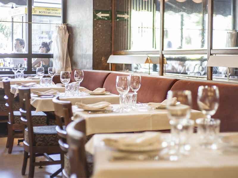 Nochebuena 2018 Madrid restaurante Cafe Comercial