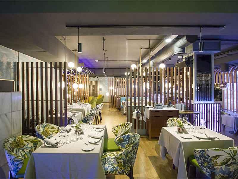Nochevieja 2018 Madrid restaurante Pez Fuego