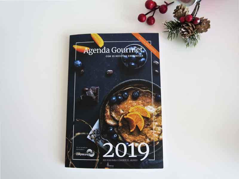 Regalos gourmet baratos 2018 Agenda solidaria gastronomica