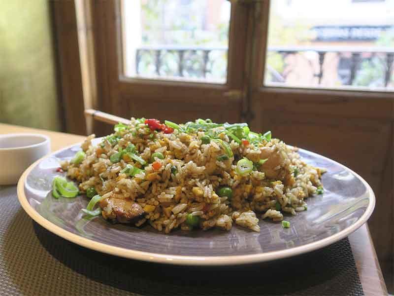 Restaurante Quispe peruano Madrid arroz chaufa