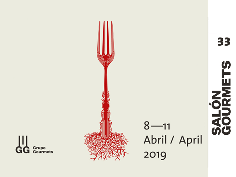 Salon Gourmets Madrid 2019 Cartel