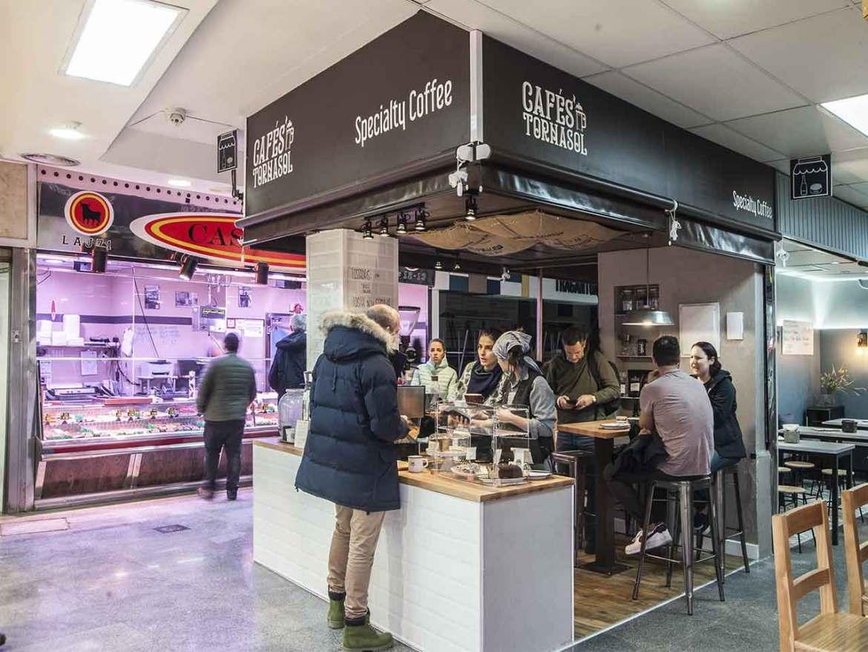 Cafe Tornasol Cafe de Especialidad en Meracado Anton Martin