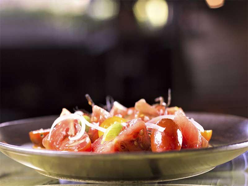 Restaurante La Gabinoteca Ensalada de tomates