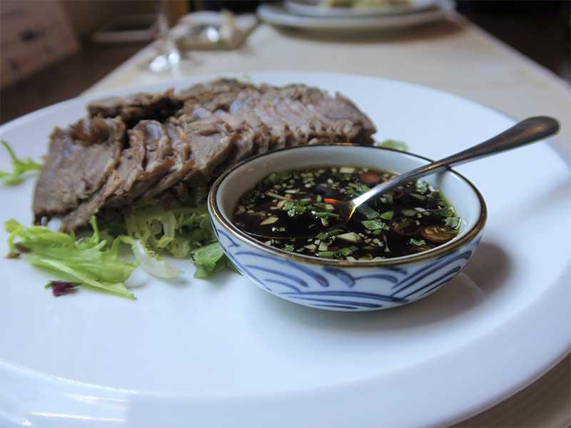 Restaurante oriental Asia Te Buey Escabechado
