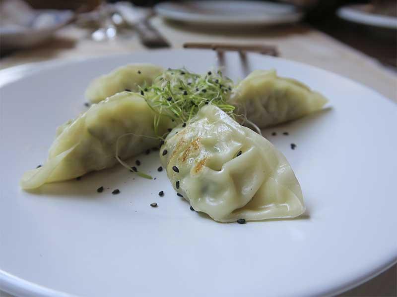 Restaurante oriental Asia Te Gyozas