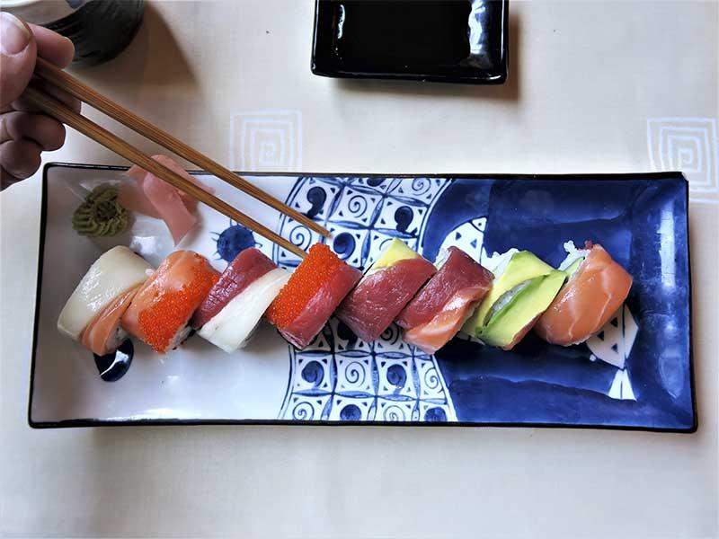 Restaurante oriental Asia Te Maki Arco Iris