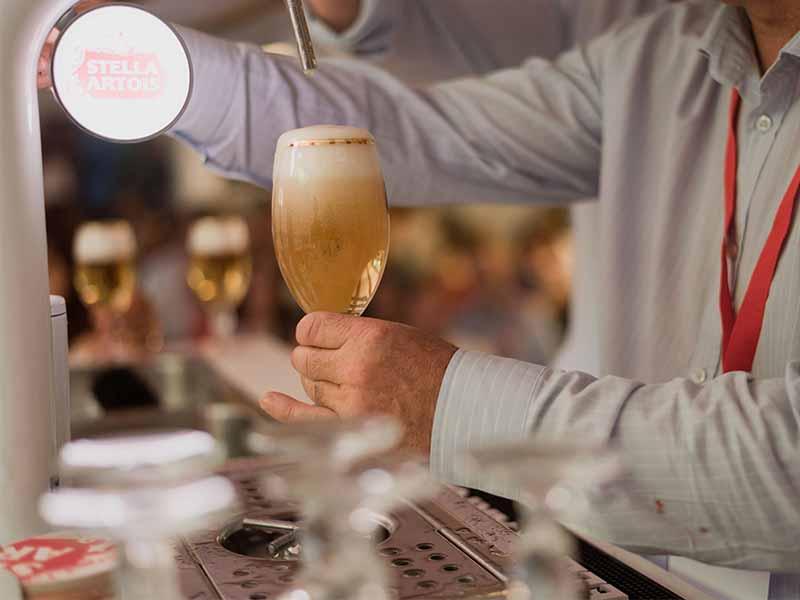 Grifo de cerveza Stella Artois