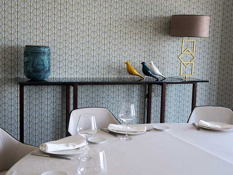 Restaurante Espacio 33 comedor privado